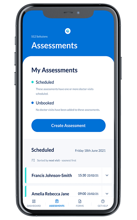 Organising-Assessments-Device Mental Health Act Assessments