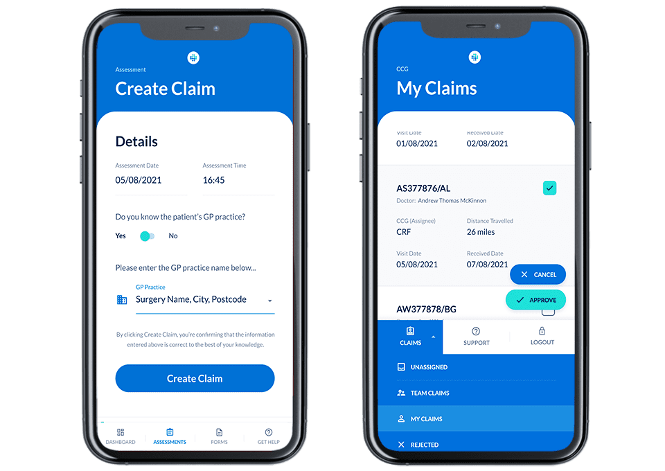 ClaimsForms-2Mobile-Mobile Doctor Claims processing